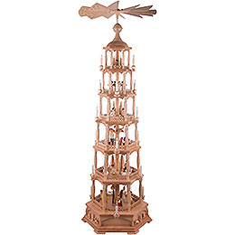 6-stöckige Pyramide Christi Geburt - 165 cm