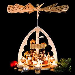 1-stöckige Pyramide Christi Geburt - 40 cm