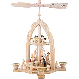 2-Tier Pyramid - Angel - 31 cm / 12 inch