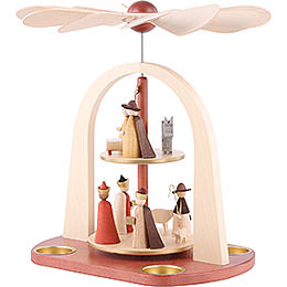 2-Tier Pyramid - Nativity Scene - 29 cm / 11.4 inch