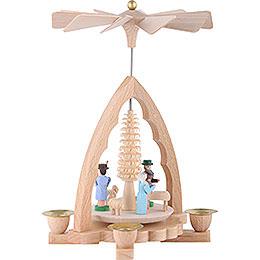 1-stöckige Pyramide Christi Geburt - 19 cm