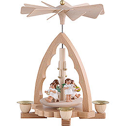 1-Tier Pyramid - Angel Concert - 19 cm / 7 inch