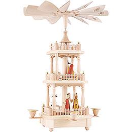 3-stöckige Pyramide Christi Geburt - 45 cm