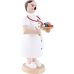 Räuchermännchen Ärztin - 17 cm