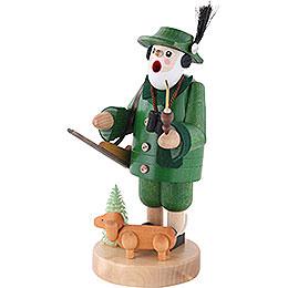 Räuchermännchen Förster mit Dackel - 19 cm