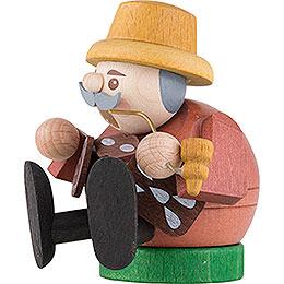 Räuchermännchen mini sitzend - Pfefferkuchenverkäufer - 8 cm