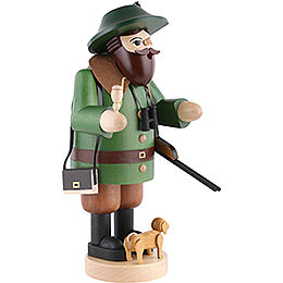 Smoker - Forester with Dachshound - 34 cm / 13.4 inch