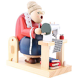 Smoker - Cutter Woman Sitting - 16 cm / 6 inch