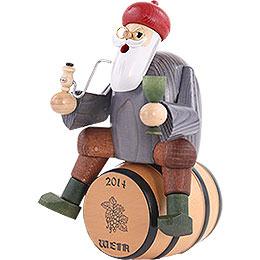 Smoker - Wine Salesman with Barrel - 18 cm / 7 inch
