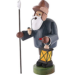 Smoker - Nightwatchman with Lantern - 18 cm / 7 inch