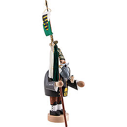 Smoker - Miner with Bell Tree - 31 cm / 12.2 inch