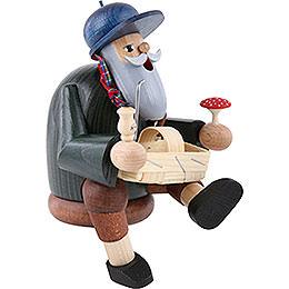 Smoker - Mushroom Picker - Edge Stool - 14 cm / 6 inch