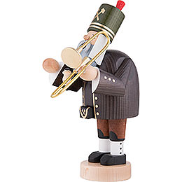 Smoker Miner with Trombone- 20 cm / 8 inch