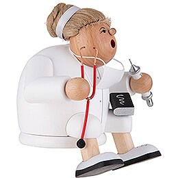 Räuchermännchen Kantenhocker Ärztin - 15 cm