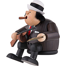 Smoker - Al Capone - Edge Stool - 15 cm / 5.9 inch