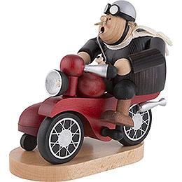 Smoker - Biker with Sidecar - 21 cm / 8.3 inch