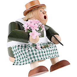 Smoker - Florist - Shelf Sitter - 16 cm / 6.3 inch