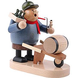Smoker - Beer Salesman - 19 cm / 7 inch