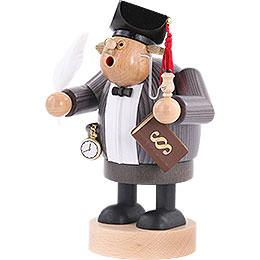 Räuchermännchen Advokat mit Gesetzbuch - 20 cm