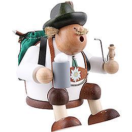 Räuchermännchen Wanderer - Kantenhocker - 17 cm