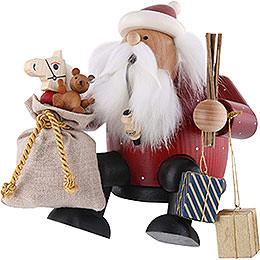 Räuchermännchen Weihnachtsmann - Kantenhocker - 16 cm