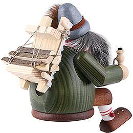 Räuchermännchen Holzfäller - Kantenhocker - 16 cm