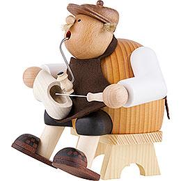 Smoker - Woodshoe Maker - Edge Stool - 17 cm / 7 inch