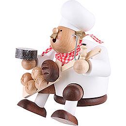 Räuchermännchen Bäcker - Kantenhocker - 17 cm