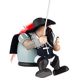 Räuchermännchen Musketier Athos - Kantenhocker - 16 cm