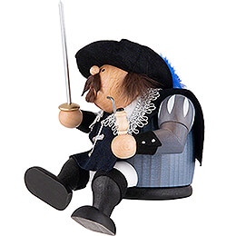 Smoker - Musketeer Porthos - Edge Stool - 16 cm / 6 inch
