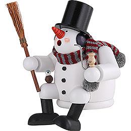 Smoker - Snowman - 17 cm / 7 inch