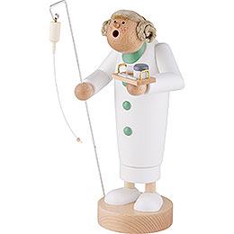 Räuchermännchen Krankenschwester - 24 cm