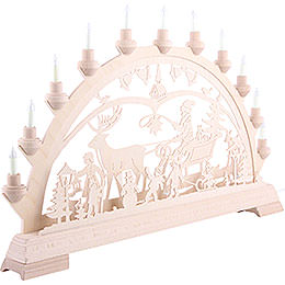 Candle Arch - Christmascountry - 65x40 cm/26x16 inch