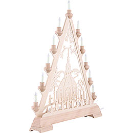 Light Triangle - Church of Seiffen - 56 cm/22 inch