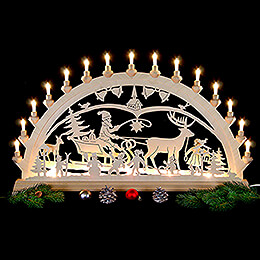 Candle Arch - Christmascountry - 84x49 cm/33x19 inch