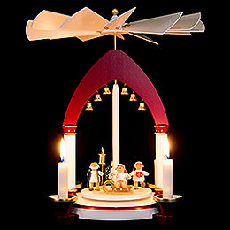 1-Tier Pyramid - Heavenly Gift Giving - 30 cm / 11.8 inch