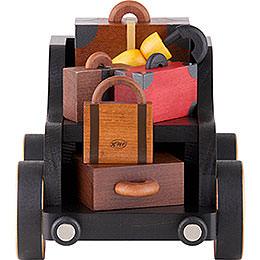 Gepäckwagen für Eisenbahn - 19x13x13 cm