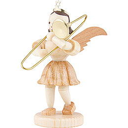 Angel Short Skirt Sliding Trombone, Natural - 6,6 cm / 2.6 inch