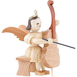 Angel Short Skirt Natural, Violoncello Sitting - 6,6 cm / 2.6 inch