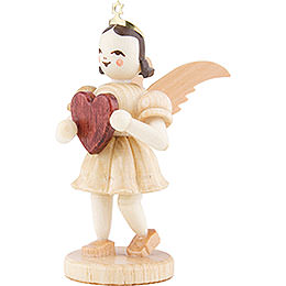 Angel Short Skirt Natural, Heart - 6,6 cm / 2.6 inch
