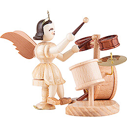 Angel Short Skirt with Drum Set - Natural - 6,6 cm / 2.6 inch