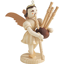 Angel Short Skirt with Bagpipe - Natural - 6,6 cm / 2.6 inch