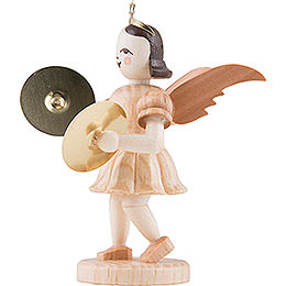 Angel Short Skirt with Cymbals, Natural - 6,6 cm / 2.6 inch
