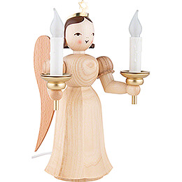 Long Pleated Skirt Angel Natural with Electric Lighting - 20 cm / 7.8 inch