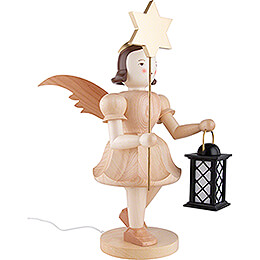 Angel Short Skirt with Lantern and Star - Natural - 51 cm / 20.1 inch