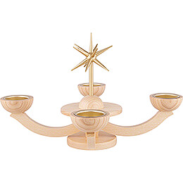 Candle Holder without Angels - 38x38x20 cm / 11x11x7.9 inch