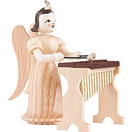 Angel Long Skirt with Xylophone - Natural - 6,6 cm / 2.6 inch