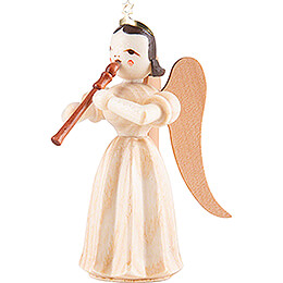 Angel Long Pleated Skirt with Recorder - Natural - 6,6 cm / 2.6 inch