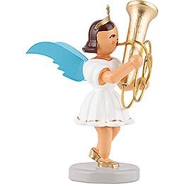 Angel Short Skirt Colored, Tuba - 6,6 cm / 2.6 inch