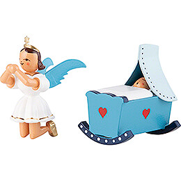 Angel Short Skirt Colored, Cradle, Kneeling - 6,6 cm / 2.6 inch